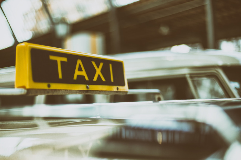 taxi urbano volador